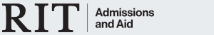 Admissions and aid footer logo